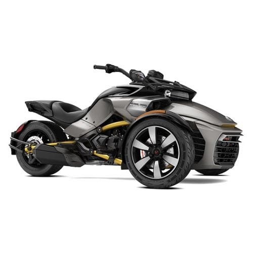Can-Am Spyder F3-S SE6 Pure Magnesium Metallic '17