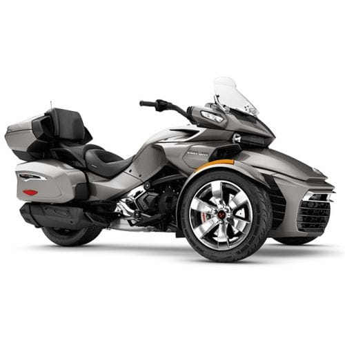 Can-Am Spyder F3 Limited SE6 Pure Magnesium Metallic '17
